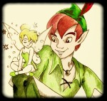 Peter Pan and Tink by JaklynRipper